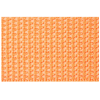 Twill tape, nylon, 25mm, orange (B40) - per 3m