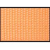 Twill tape, nylon, 25mm, orange (B40) - per 3m