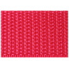 Twill tape, nylon, 25mm, red (B54) - per 3m