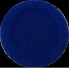 Knoop, 15mm, rond, blauw