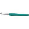 Crochet hooks soft feel, 10mm, jade