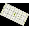 Patchwork liniaal, 30x15cm