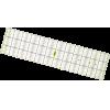 Patchwork liniaal, 60x15cm