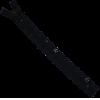 Zipper fantasy, lace, 20cm, dark blue