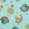 *COUPON - Globe with stars - Kokka