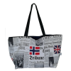 Shoulder bag, newspaper