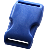 Clip buckles, 35mm, dark blue