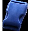 Klikgesp, 35mm, donkerblauw