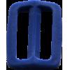 Schuifgesp, 35mm, donkerblauw