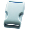 Clip buckles, 35mm, light blue