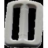 Boucle réglable, 35mm, blanc
