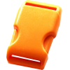 Clip buckles, 35mm, orange