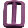 Adjustable buckles, 35mm, violet