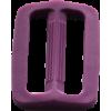Schuifgesp, 35mm, paars
