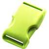 Clip buckles, 35mm, light green