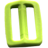 Adjustable buckles, 35mm, light green