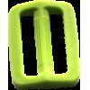 Schuifgesp, 35mm, lichtgroen