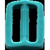 Boucle réglable, 35mm, turquoise
