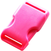 Clip buckles, 35mm, dark pink