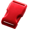 Clip buckles, 35mm, red