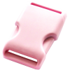 Clip buckles, 35mm, light pink