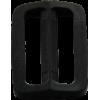 Schuifgesp, 35mm, zwart