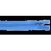 Zipper skirt, 40cm, blue (835)