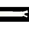 Zipper invisible, 22cm, white (009)