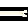 Zipper invisible, 40cm, vintage white (089)
