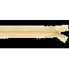 Zipper invisible, 60cm, beige (948)