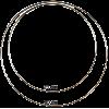 Dromenvanger ring, 25cm, wit