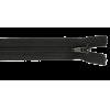 Zipper divisible, 45cm, black (580)