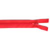 Zipper divisible, 25cm, red (820)