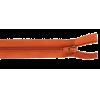 Deelbare rits, 45cm, bruin (850)