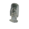 Cord stops, with 1 hole, 16mm, transparent