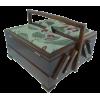 Sewing box, 24cm, dark