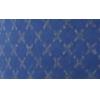 Bias binding, cotton, 20mm, reflective, blue - per 1m