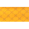 Bias binding, cotton, 20mm, reflective, yellow - per 1m