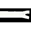 Zipper profile, 40cm, white (501)