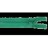 Zipper profile, 30cm, green (536d)