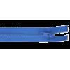 Zipper profile, 40cm, blue (918)